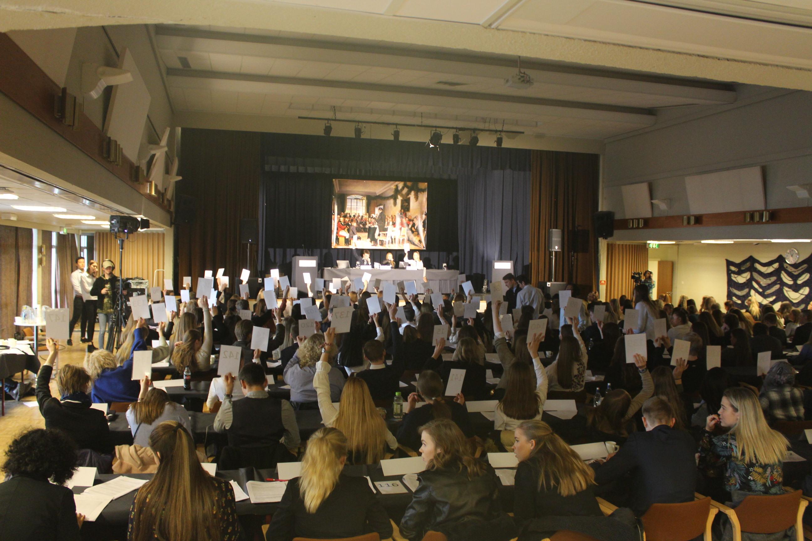 Resultatet av dagens andre runde av plenumsdebatt og votering